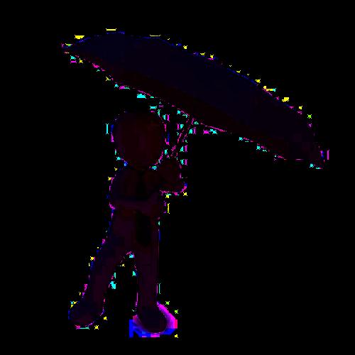 Grafik Regenschirm